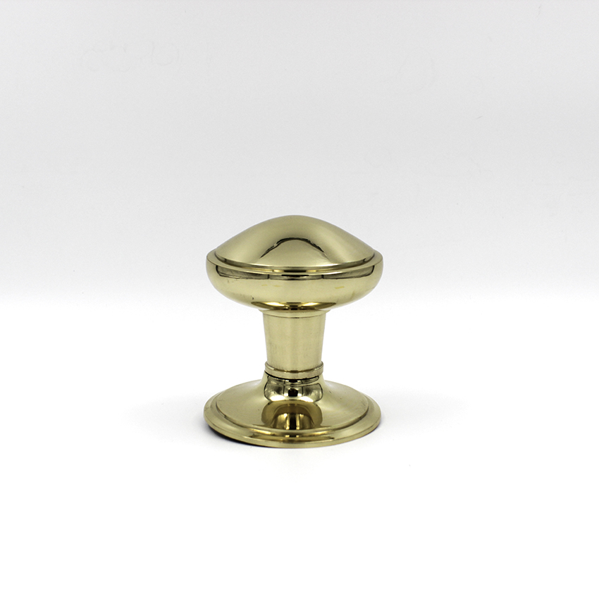 Centre Knobs - Solid Brass